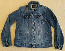 Burton Menswear London Blue Wash Denim Jean Jacket (Large)