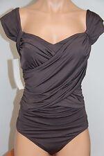 NWT BADGLEY MISCHKA Swimsuit Bikini 1 ONE piece Size 6 COC