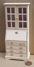 1:12 Acabado Natural De Madera Libro caso Mesa Casa de muñecas en miniatura accesorios 127