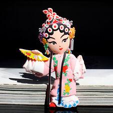 Chinese Peking Beijing Opera Rubber FRIDGE MAGNET Liniang Du , Peony Pavilion