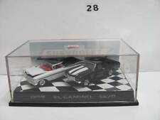 HOT WHEELS 40TH ANNIVERSARY 1959 EL CAMINO 1970 BLACK & WHITE 2 CAR PACK