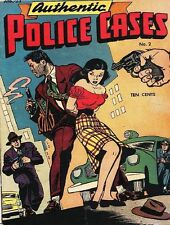 AUTHENTIC POLICE CASES COMICS GOLDEN AGE PDF ON DVD