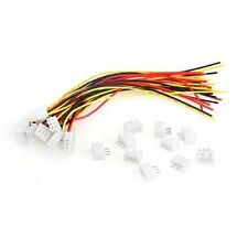 10 Pairs 150mm 2S1P Wire Cable+Balance Charger Plug for RC Battery AD