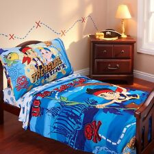 Pirate Bedding Kids Toddler Sets For Boys 4 Pc Disney Comforter Quilt Sheets