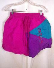 vtg 80s 90s Umbro Sand Soccer retro Nylon Shorts USA made w/ drawstrings S