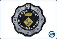 España: insignia policía mintio local Corbera de Llobregat