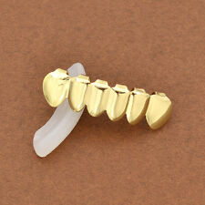 Fashion Gold Plated Hip Hop Teeth Grillz Bottom Grill Mouth Teeth Grills Jewelry