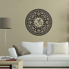 Mandala Indian Pattern Vinyl Wall Decal Removable Wall Sticker For Home Decorate
