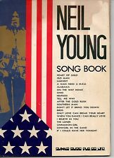 Neil Young SONGBOOK JAPAN Early 70s 1970's CSNY Crazy Horse Austin, TX RARE