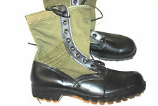 NWT 1960's US ARMY VIETNAM WAR ERA JUNGLE BOOTS - SIZE 10N