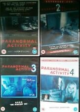 PARANORMAL ACTIVITY QUADRILOGY [1,2,3,4] Found Footage Occult Horror DVD *EXC*