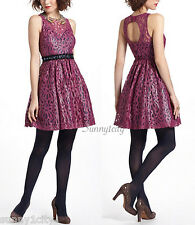 NEW Anthropologie Mariposa Lace Dress From Plenty by Tracy Reese sz 2 Gorgeous