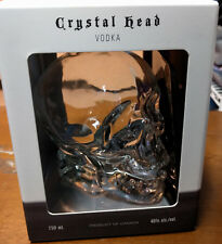 Crystal Head Vodka empty bottle 750ml with box