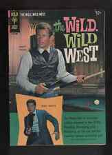 "1966 1ST ISSUE "" THE WILD WILD WEST  "" GOLD KEY  COMIC VERY U-GRADE"