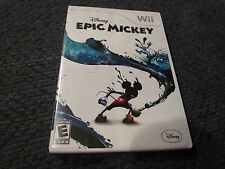 EPIC MICKEY DISNEY (Nintendo Wii, 2010) BOOKLET CASE GAME