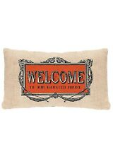 Heritage Lace HALLOWEEN Frames WELCOME Pillow COVER 12x20 Made in USA