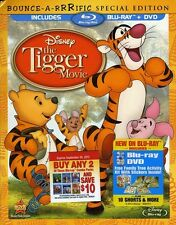 Tigger Movie (2012, Blu-ray NIEUW) BLU-RAY/WS/Bounce-A-Riff SP