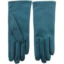 All Gloves 4097 Womens Green Leather Lined Driving Gloves 7 M BHFO