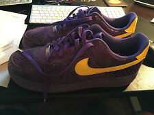 Eddie Cruz Nike Air Force 1 Supreme West Coast 0.44 Sticky Rubber Kobe Lakers