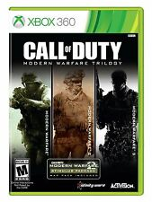 CALL OF DUTY: MODERN WARFARE TRILOGY FOR XBOX 360 BRAND NEW & FACTORY SEALED 1-3