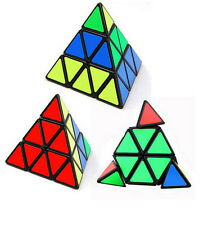 Hot Sale Educational Toys Pyraminx Triangle Speed Cube Plastic Block Magic Game