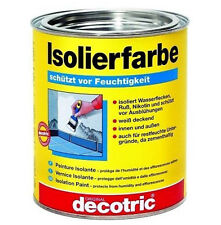Decotric Isolierfarbe weiß   750ml     (18,53€/l)