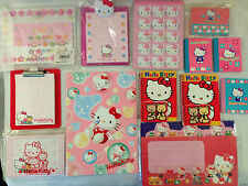 Rare Hello Kitty Stationary Notebook Letter Card Set 13-Piece Lot, 1997, NEW