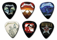 Metallica Set of 6 Loose Guitar Picks ( Collection B )