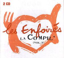 Les Enfoirés : La Compil' vol. 3 (2 CD)