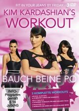 KIM KARDASHIAN'S WORKOUT: BAUCH, BEINE, PO - FITNESSBOX 3 DVD NEU