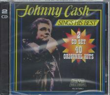 JOHNNY CASH 40 GREATEST HITS Man In Black Ring Of Fire Boy Named Sue NEW 2CD Set