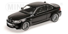 110020021 BMW 1er M COUPÉ - 2011 - BLACK METALLIC (BLACK SAPP  , 1:18 Minichamps