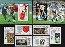 1995 DAVAAR Island - FA Cup Football Stamp Set (GB Locals/Great Sporting Events)