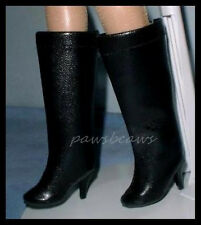 BLACK High Hell BOOTS Shoes for TYLER Ava Gardner ELLOWYNE U.S.SHIPS FREE