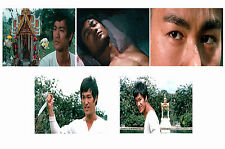 BRUCE LEE - THE BIG BOSS  - SET OF 5 - A4 PHOTO PRINTS