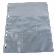 10 Budget trading card album pages sleeves 9 pocket