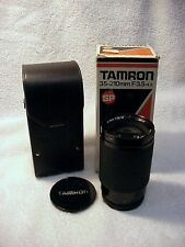 35-200mm f3.5-4.2 SP Tamron | Tiny Pecks on Glass front Cell Edge | Case | Cap |