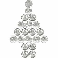 Special Price - SilverTowne 20 PC Christmas Holiday Medallions