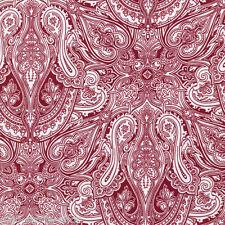 Patchworkstoff Paisley Rot Baumwollstoff Patchwork Quilt Stoff Meterware quilten