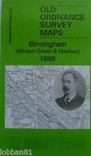 Old Ordnance Survey Map Birmingham Winson Green & Hockley 1888 Sheet 13.04 New