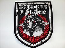 BATHORY  HORDES SHIELD     EMBROIDERED BACK PATCH