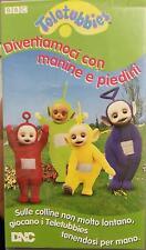 Teletubies divertiamoci con mianine e piedini (VHS) - BBC - 1996