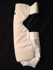 Worth size Small Softball Sliding Knee Pad Fastpitch Guard White Spandex