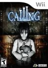 Calling (Nintendo Wii, NTSC, Horror Scary Puzzle Video Game) Brand New Sealed