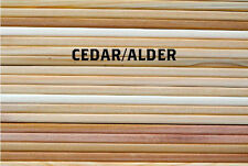 "Grilling Plank Cedar - Alder Variety 5""x11"" (2nds): 30 Pack - 15 of Each"