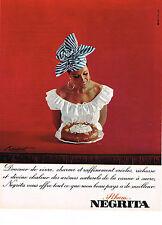 PUBLICITE   1965   RHUM  NEGRITA  BARDINET