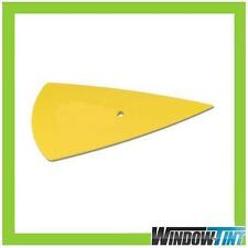 CAR WINDOW TINTING TOOL YELLOW CONTOUR SQUEEGEE HARD CARD
