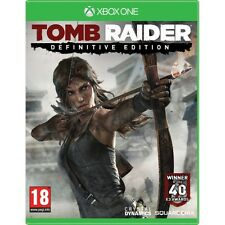 Tomb raider definitive edition jeu XBOX One neuf