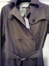 Vanessa bruno Technical Raw edge Wool Blend Green Trench Coat  rrp £777.61