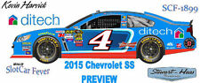 CD_1899 #4 Kevin Harvick 2015 Ditech Chevy SS PREVIEW CAR   1:64 decals ~SALE~